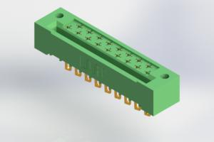 408-017-500-122 - Card Edge | Metal to Metal 2 Piece Connectors