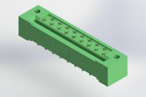 408-017-520-112 - Card Edge | Metal to Metal 2 Piece Connectors