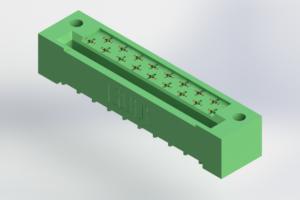 408-017-523-122 - Card Edge | Metal to Metal 2 Piece Connectors