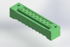 408-017-525-122 - Card Edge | Metal to Metal 2 Piece Connectors