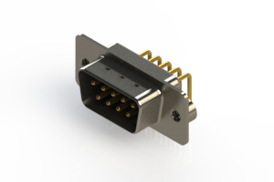 621-M09-260-BN2 - Right Angle D-Sub Connector