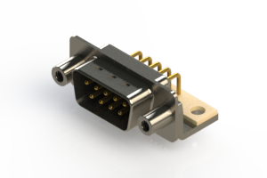 621-M09-260-BT6 - Right Angle D-Sub Connector