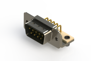 621-M09-260-GN3 - Right Angle D-Sub Connector