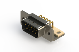 621-M09-260-LN4 - Right Angle D-Sub Connector
