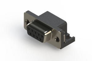 622-009-260-006 - EDAC | Standard Right Angle D-Sub Connector