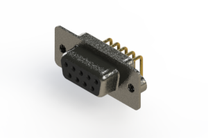 622-M09-260-BN2 - EDAC | Right Angle D-Sub Connector