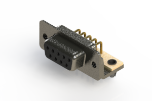 622-M09-260-BT3 - EDAC | Right Angle D-Sub Connector