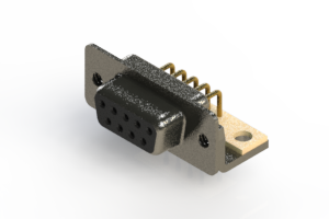 622-M09-260-BT4 - EDAC | Right Angle D-Sub Connector