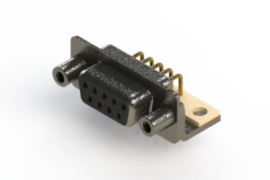 622-M09-260-BT6 - EDAC | Right Angle D-Sub Connector