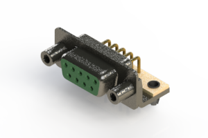 622-M09-260-GN5 - EDAC | Right Angle D-Sub Connector
