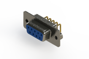 622-M09-260-LN2 - EDAC | Right Angle D-Sub Connector