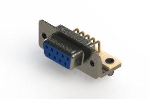 622-M09-260-LN3 - EDAC | Right Angle D-Sub Connector