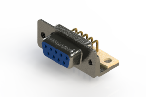 622-M09-260-LN4 - EDAC | Right Angle D-Sub Connector