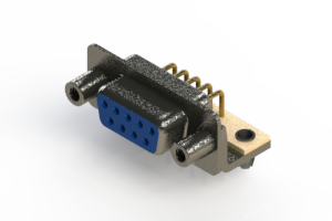 622-M09-260-LN5 - EDAC | Right Angle D-Sub Connector