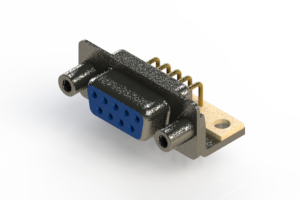 622-M09-260-LN6 - EDAC | Right Angle D-Sub Connector