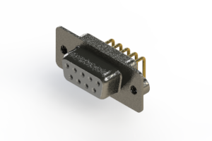 622-M09-260-WN2 - EDAC | Right Angle D-Sub Connector