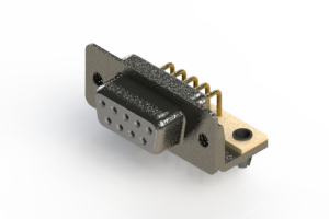 622-M09-260-WN3 - EDAC | Right Angle D-Sub Connector
