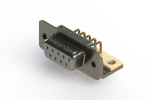 622-M09-260-WN4 - EDAC | Right Angle D-Sub Connector