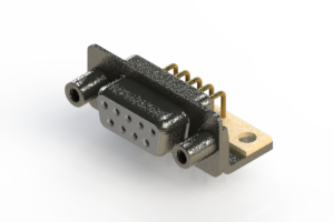 622-M09-260-WN6 - EDAC | Right Angle D-Sub Connector