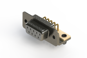 622-M09-260-WT3 - EDAC | Right Angle D-Sub Connector