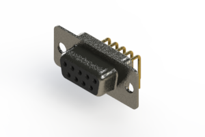 622-M09-360-BN1 - EDAC | Right Angle D-Sub Connector