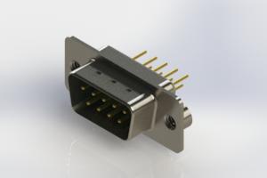 627-M09-220-GT2 - Vertical D-Sub Connector