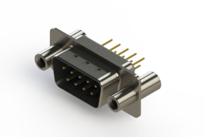 627-M09-220-LN4 - Vertical D-Sub Connector