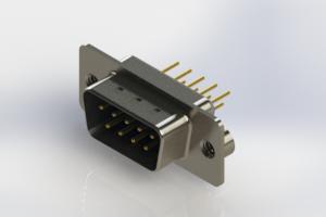 627-M09-220-LT2 - Vertical D-Sub Connector