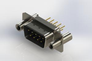 627-M09-220-LT4 - Vertical D-Sub Connector