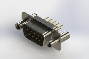 627-M09-220-WT4 - Vertical D-Sub Connector