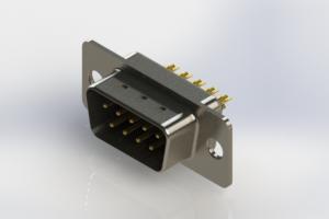 627-M09-222-BN1 - Vertical D-Sub Connector