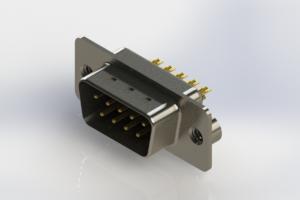 627-M09-222-BN2 - Vertical D-Sub Connector