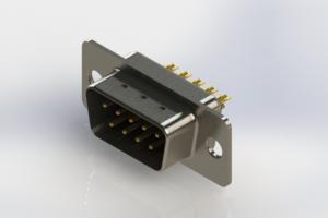 627-M09-222-BT1 - Vertical D-Sub Connector