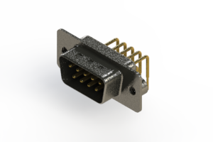 629-M09-240-BN2 - Right Angle D-Sub Connector