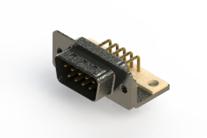 629-M09-240-BT4 - Right Angle D-Sub Connector