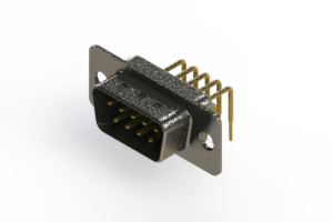 629-M09-240-GN1 - Right Angle D-Sub Connector