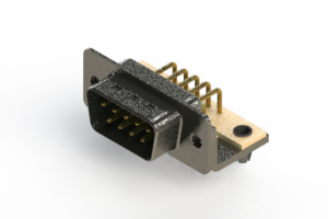 629-M09-240-GN3 - Right Angle D-Sub Connector