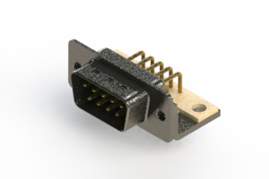 629-M09-240-GN4 - Right Angle D-Sub Connector