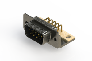 629-M09-240-LN4 - Right Angle D-Sub Connector