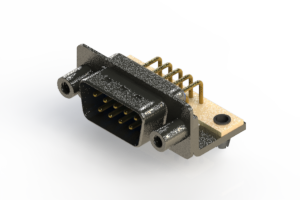 629-M09-240-LN5 - Right Angle D-Sub Connector