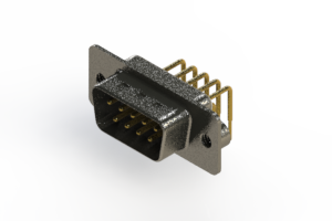 629-M09-240-WN2 - Right Angle D-Sub Connector