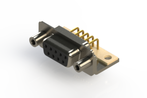 630-M09-240-BN6 - Right Angle D-Sub Connector
