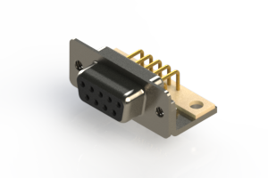 630-M09-240-BT4 - Right Angle D-Sub Connector