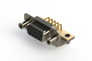630-M09-240-BT5 - Right Angle D-Sub Connector