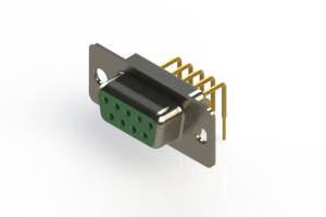 630-M09-240-GT1 - Right Angle D-Sub Connector