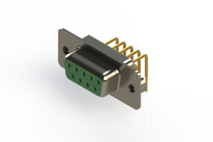 630-M09-240-GT2 - Right Angle D-Sub Connector