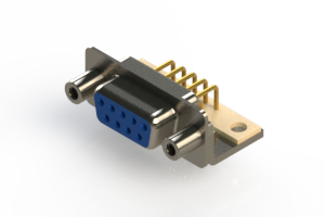 630-M09-240-LN6 - Right Angle D-Sub Connector