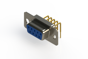 630-M09-240-LT1 - Right Angle D-Sub Connector