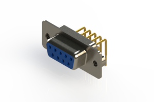 630-M09-240-LT2 - Right Angle D-Sub Connector