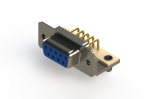 630-M09-240-LT3 - Right Angle D-Sub Connector
